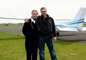 Lars Anderson from Denmark who was our PPL student in 2011, completed his PPL in 47 hours