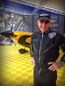 Nigel lamb air race pilot in 2014 Red Bull Air Race World Championships wears Bigatmo pilot sunglasses