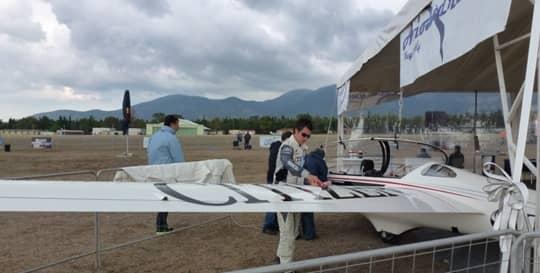 Luca Bertossio in Bigatmo sunglasses, Athens Flying Show 2014