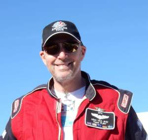 Air Race 1 Pilot Stephen Partridge