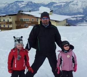 Adrian Skiing