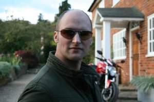Wearing Bigatmo Strato RX Sunglasses