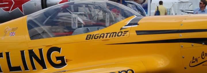 Bigatmo on Breitling plane