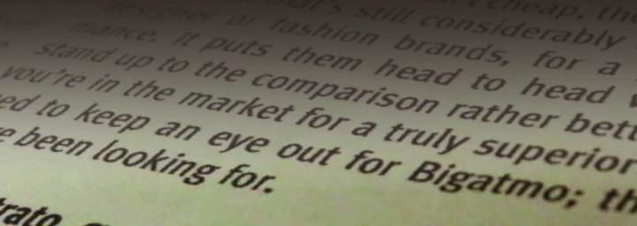 Flight Trainer News - Reviews of Bigatmo Sunglasses