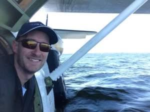 Pilot sunglasses for sailing
